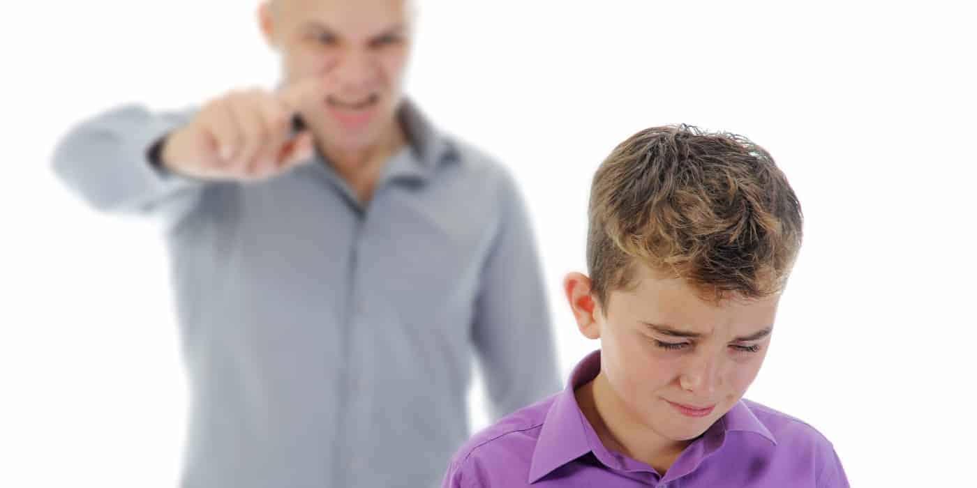Eltern und Wut Nerven Kinder Erziehung
