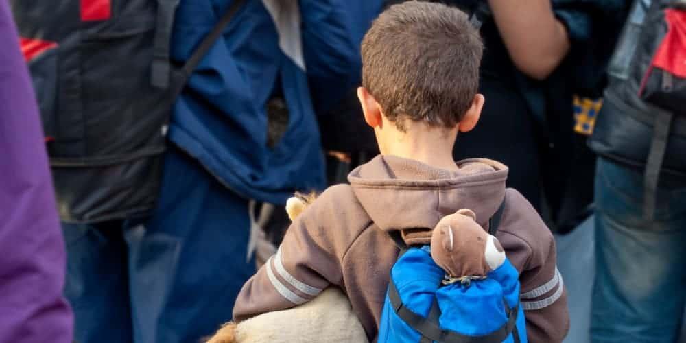 Kinder Flüchtlinge Flüchtlingskinder Schule Bildung