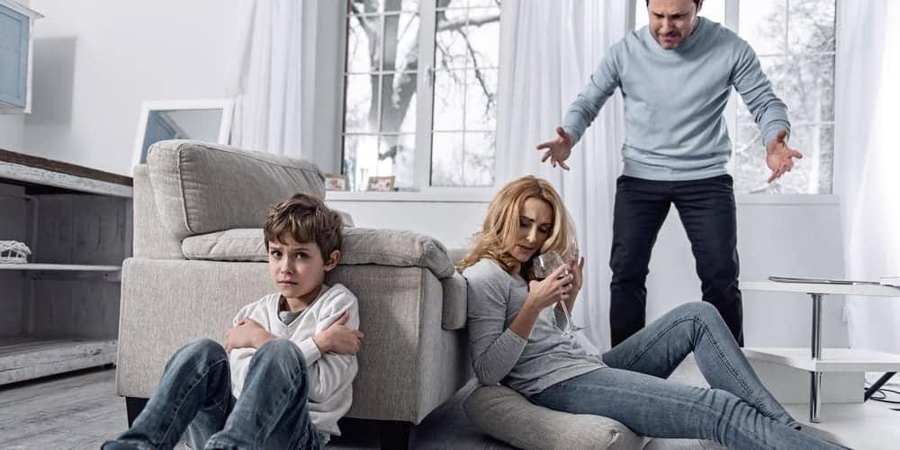 Kinder suchtkranke Eltern Hilfe