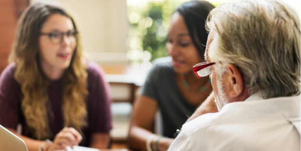 Supervision Lehrer Schüler Gespräch
