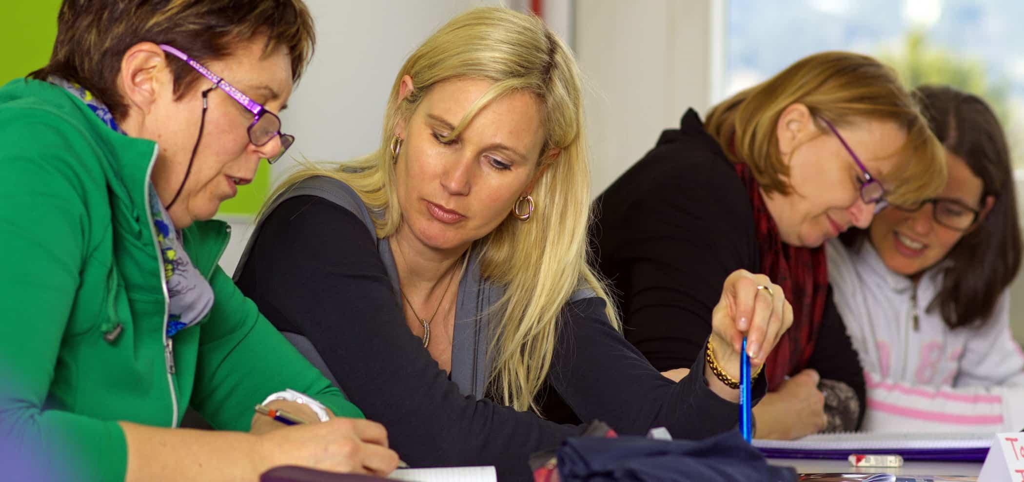 Weiterbildung für Kursleiterinnen